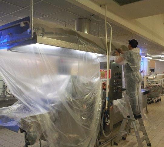 Телеинспекция вентиляции в частном доме